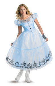 Tim Burton Movie Alice In Wonderland Costumes For Teens and Adults