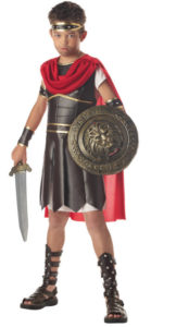 Cool Roman Soldier Child Halloween Costume