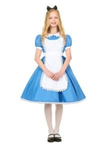 Gorgeous Alice in Wonderland Fancy Dress Costumes For Kids