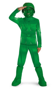 Green Army Men Child Toy Story Fancy Dress Costume