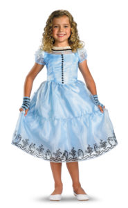 Disneys Alice In Wonderland Fancy Dress Costume For Children