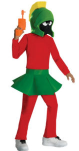 Exciting Marvin the Martian Child Costume Looney Tune Special