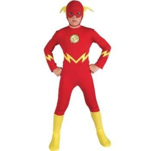 Amazing The Flash Child Superhero Halloween Costume