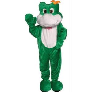 Economy Delux Green Frog Adult Mascot Costume