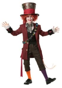 Unique The Mad Hatter Child Fancy Dress Costume