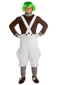 Willy Wonka And Oompa Loompa Halloween Costumes