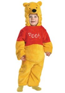 Winnie The Pooh Fancy Dress Costume For Kids