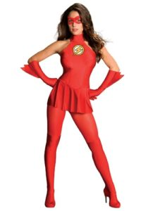 The Flash Sexy Superhero Fancy Dress Costume For Women