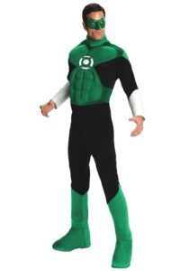 Super Cool Adult Green Lantern Costume For Men