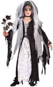 The Corpse Bride Halloween Fancy Dress Costume For Kids