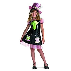 Stunning Mad Hatter Costume For Girls
