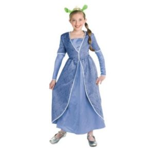 Gorgeous Princess Fiona Shrek Child Halloween Costume