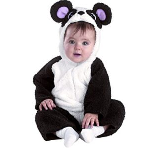 Cute and Cuddly Panda Bear Costume For Infants