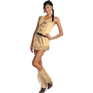 Sexy Tonto Fancy Dress Costumes For Ladies From The Lone Ranger