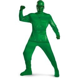 Toy Story Soldier Costume for Adults And Kids