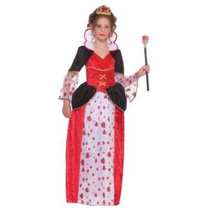 Queen Of Hearts Fancy Dress Costume For Kids
