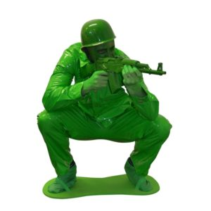 Green Army Men Adult Fancy Dress Costume From Toy Story