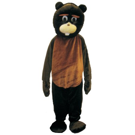 Fun Adult Beaver Mascot Costume