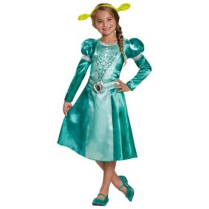 Stunning Princess Fiona From Shrek Kids Fancy Dress Costumes