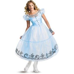 Alice In Wonderland Ladies Costume From Tim Burtons Movie