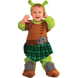 Shrek Princess Fiona Warrior Infant And Toddler Halloween Costume
