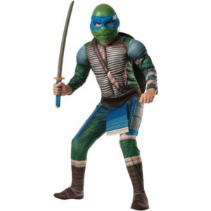 Crazy Teenage Mutant Ninja Turtle Leonardo Muscle Child Costume