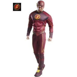 Our Fastest Superhero The Flash Fancy Dress Costume For Men