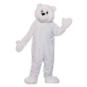 Fun Polar Bear Mascot Adult Fancy Dress Costume
