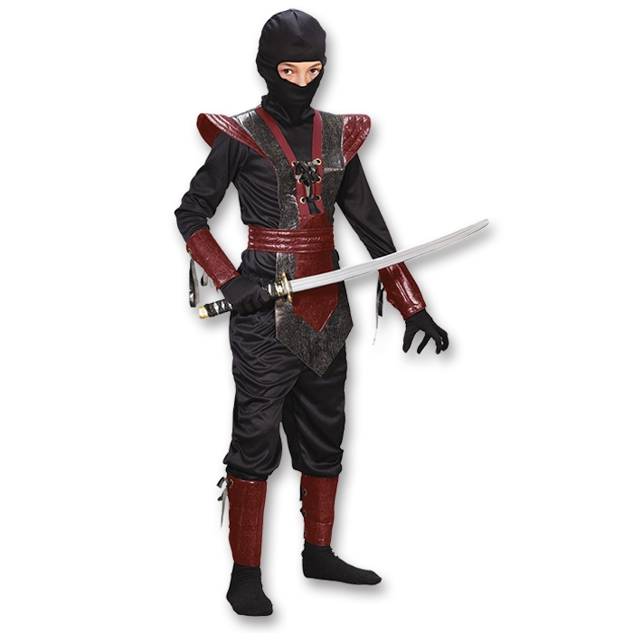 Child and Teen Ninja Assassin Halloween Costumes
