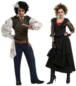 Sweeney Todd And Mrs Lovett Fancy Dress Costumes