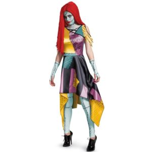 A Nightmare Before Christmas Sally Fancy Dress Costumes