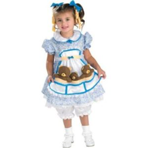 Goldilocks Fancy Dress Costume For Children