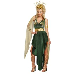 Stunning Medusa Adult Fancy Dress Costume For Halloween