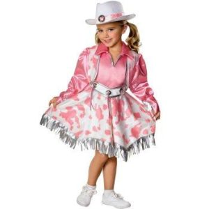Cowgirl Fancy Dress Costume For Kids