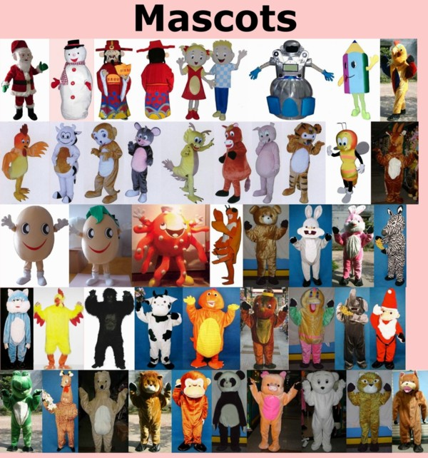 Famous Mascots and Their Costumes from Around the World Part 2