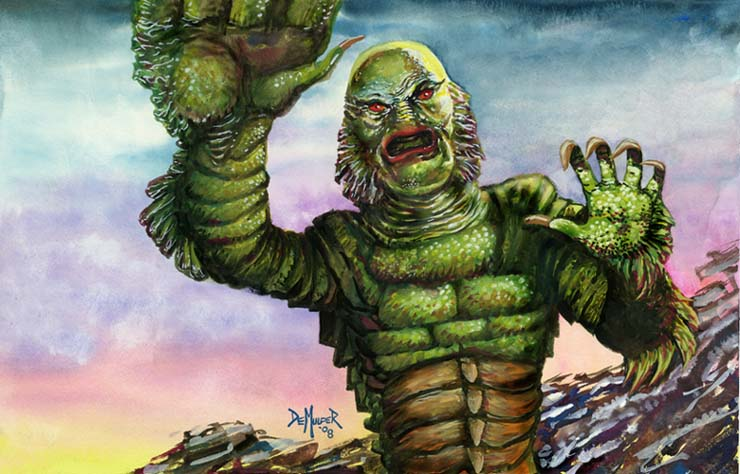 Creature from the Black Lagoon Classic Cult Movie and Remake