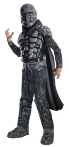 Man of Steel Kryptonian Nemesis Fancy Dress Costumes For Kids and Adults
