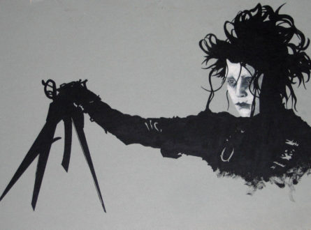 Tim Burton's Edward Scissiorhands Unique Halloween Costumes for Men and Women