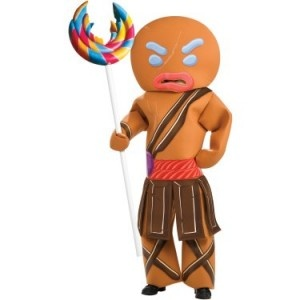 Shrek's Gingerbread Man Halloween Costumes for Children and Adults