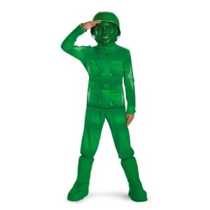 Toy Story Green Army Men Halloween Costumes Still A Popular Seller This Year