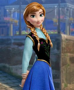 Disney Frozen Anna Costumes For Kids This Christmas