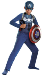 Super Captain America Avengers Fancy Dress Costumes For Adults and Kids